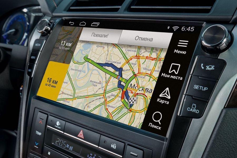 Иконка Подключение Андроид Авто и Яндекс.Навигатор