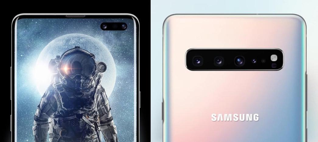 galaxu s10 5g дисплей и камера