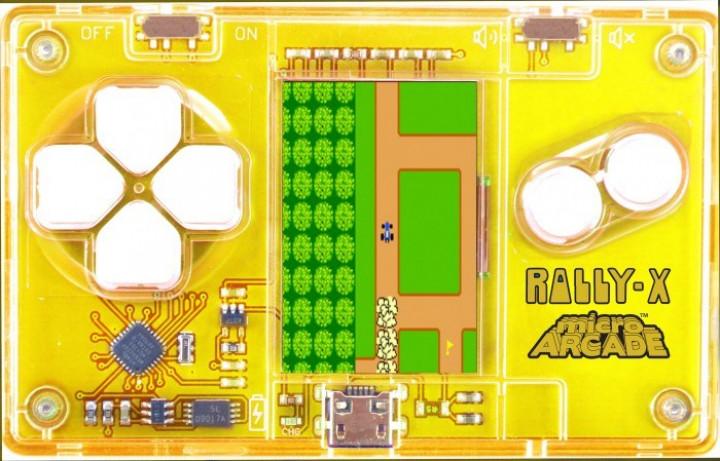 micro arcade rally-x