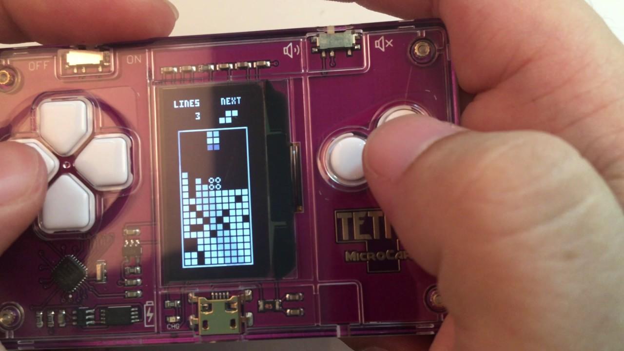 microcards tetris