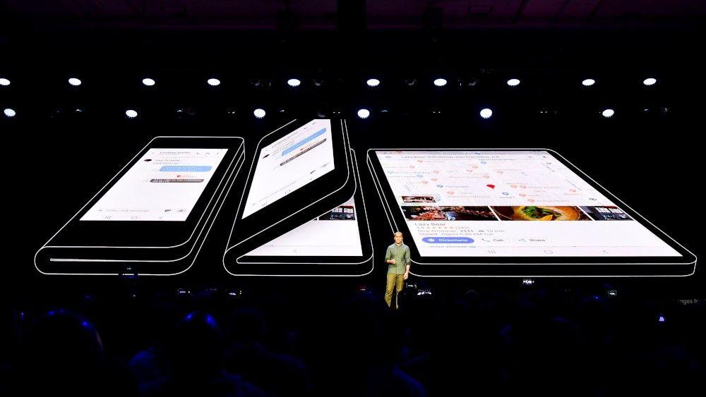 Иконка Samsung представила официальный рендер складног...