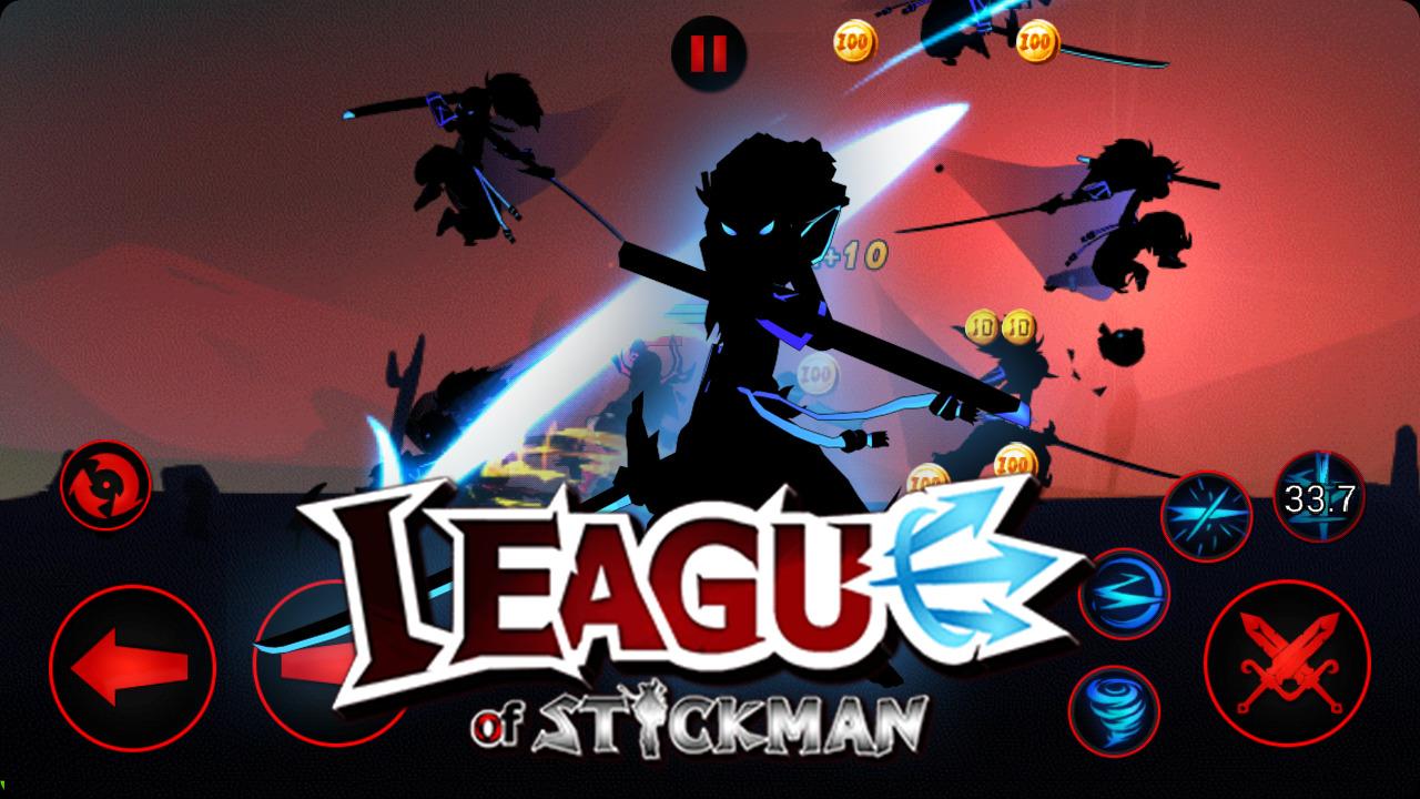 Иллюстрация на тему League of Stickman: скачать полную версию игры на Андроид