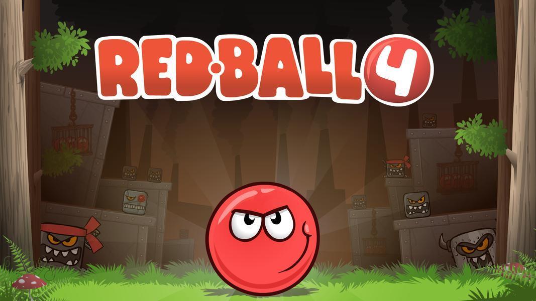 Иллюстрация на тему Red Ball 4: скачать игру о красном шарике на Андроид