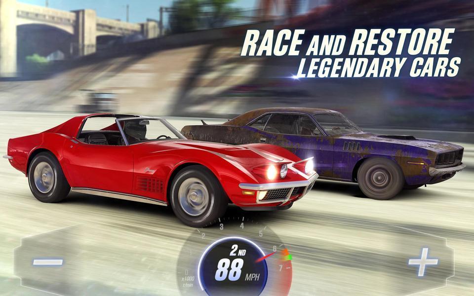 Иллюстрация на тему CSR Racing 2: скачать полную версию игры на Андроид