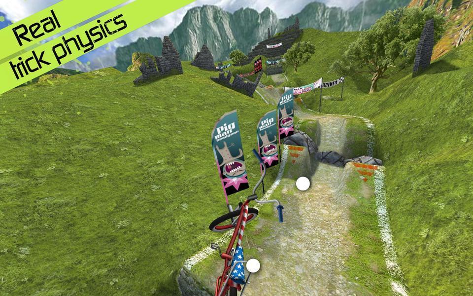 Иллюстрация на тему Touchgrind BMX: скачать полную версию игры на Андроид (на русском)