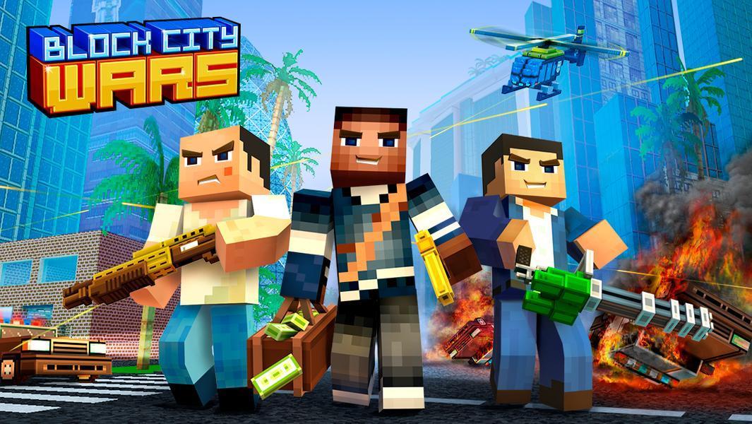 Иллюстрация на тему Блок Сити Варс: скачать полную версию игры на Андроид