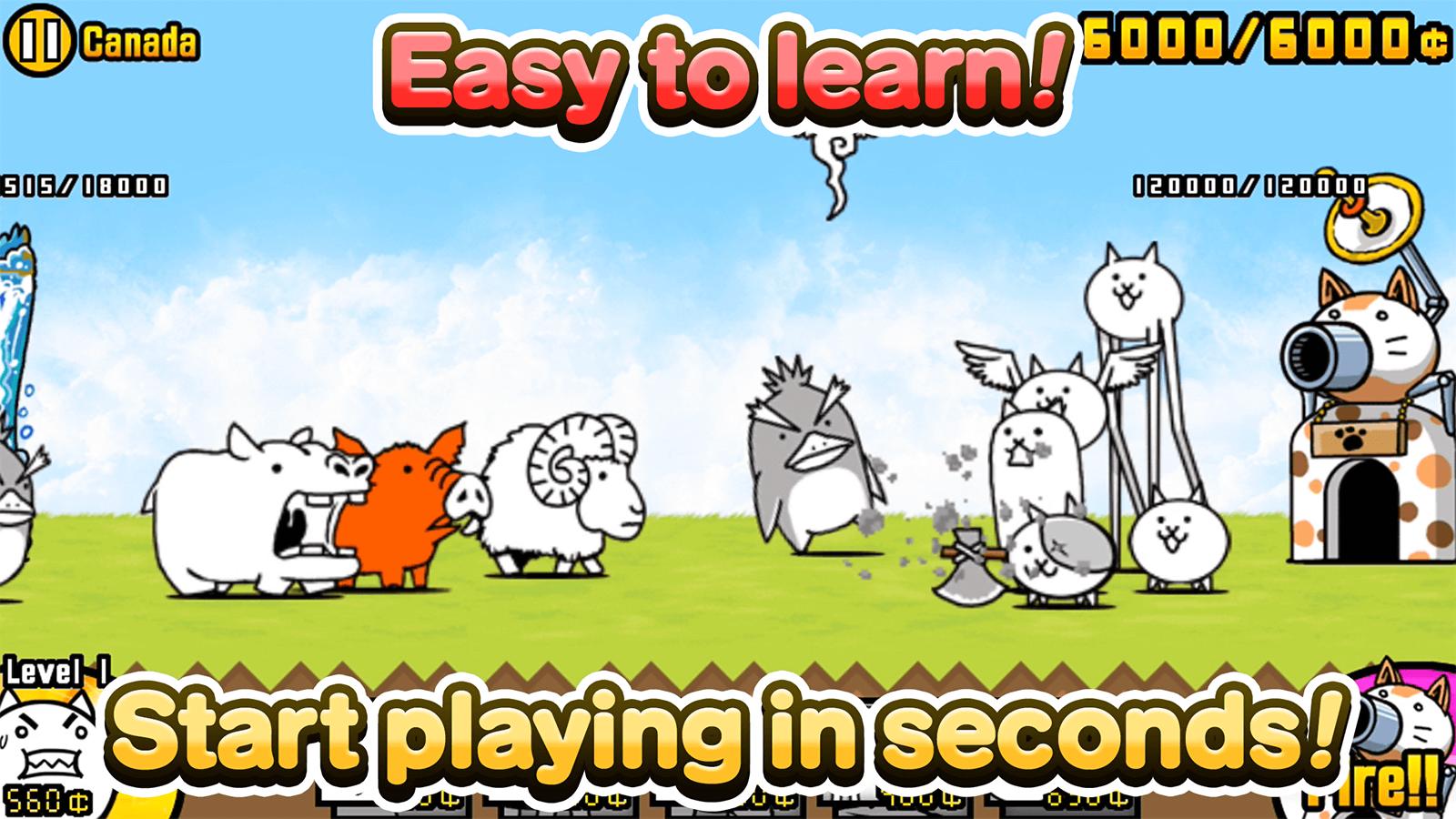 Иллюстрация на тему Battle Cats: скачать игру о боевых котах на Андроид