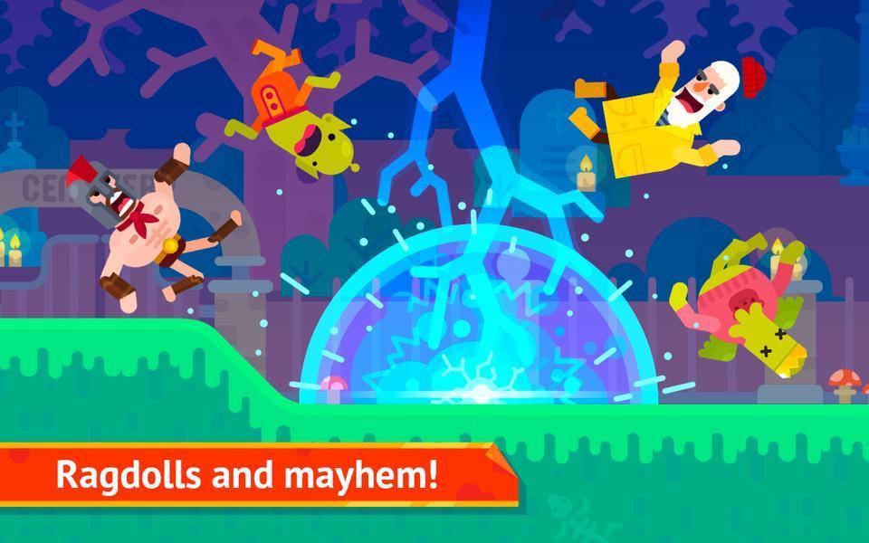 Иллюстрация на тему Скачать Bowmaster на Андроид: полная версия игры