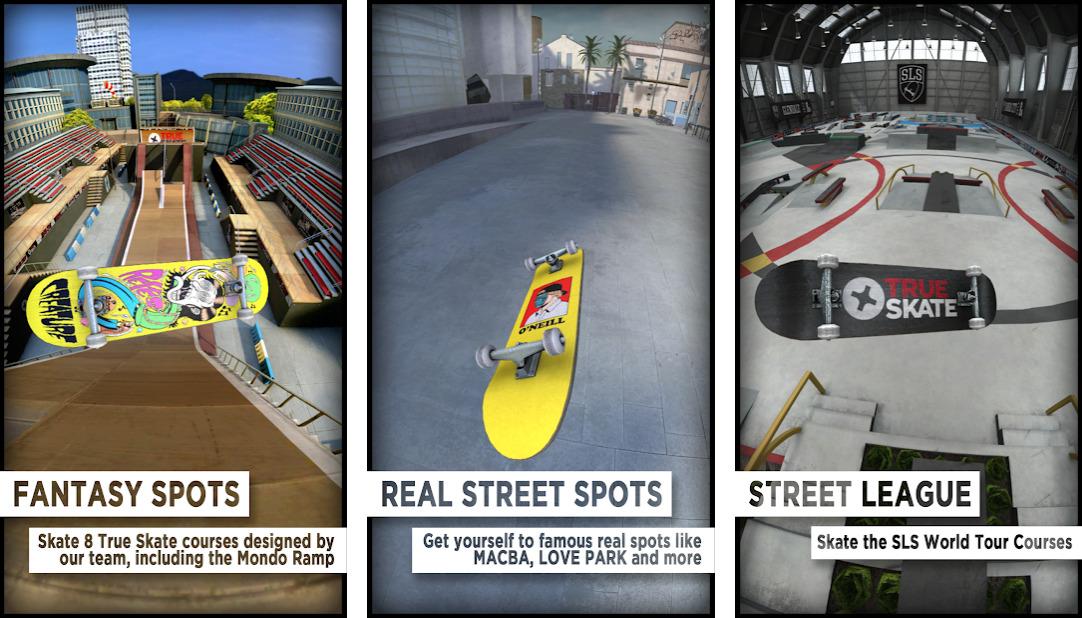 Иллюстрация на тему True Skate: скачать полную версию игры на Android