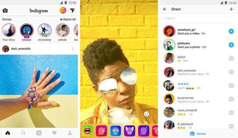 Иллюстрация на тему Скачать Инстаграм на Андроид: как установить приложение на телефон