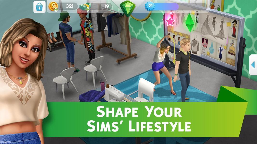 Иллюстрация на тему The Sims Mobile: скачать последнюю версию приложения на Андроид