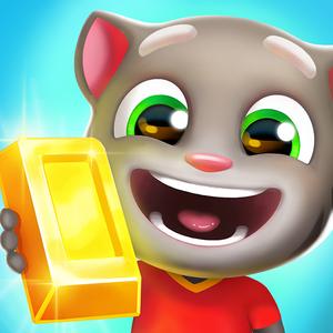 Иконка Скачать игру Говорящий Том: бег за золотом на A...
