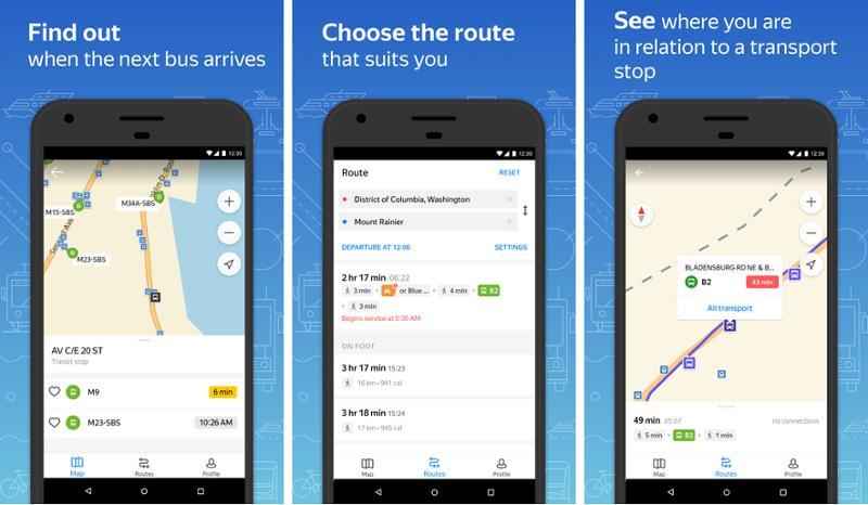 Иллюстрация на тему Яндекс Транспорт: скачать для Андроид бесплатно последнюю версию