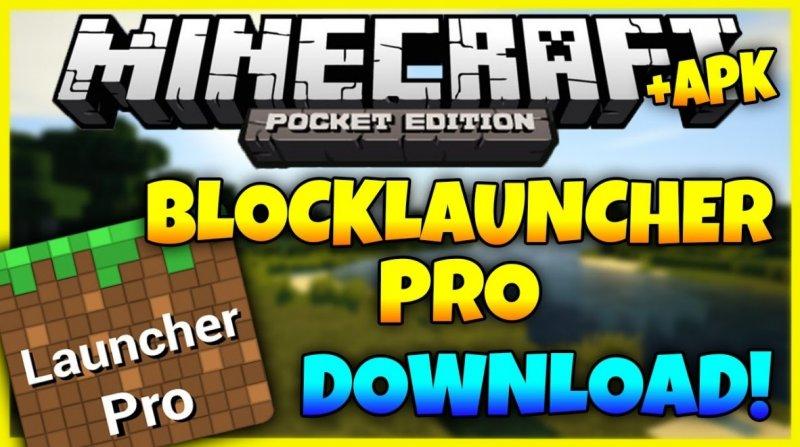 Иллюстрация на тему Скачать Блок Лаунчер BlockLauncher для Minecraft PE на Андроид