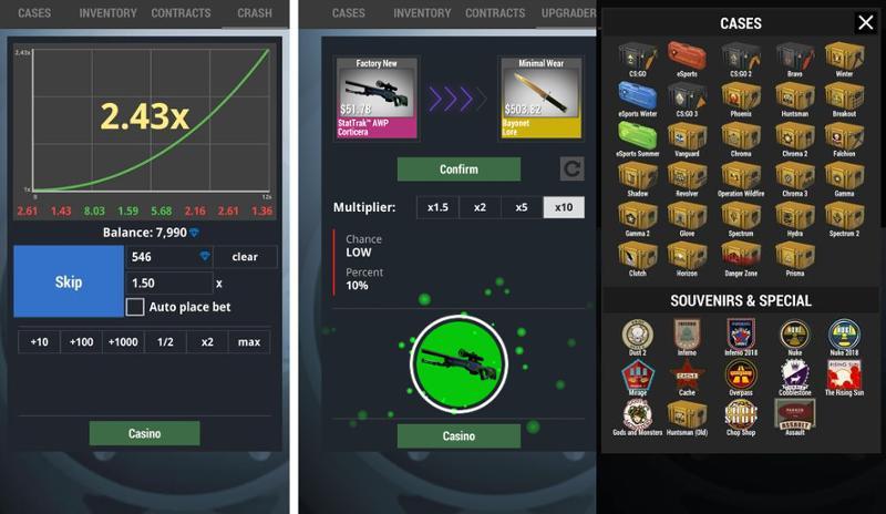 Иллюстрация на тему Скачать Case Simulator 2 полную версию на Андроид