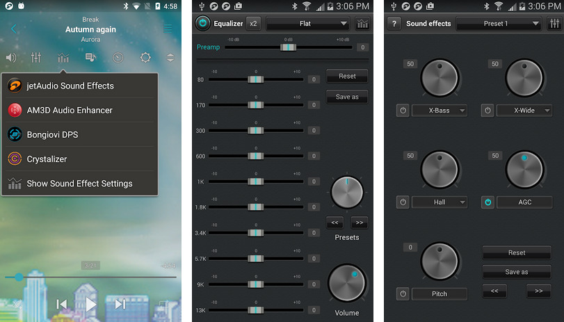 Иллюстрация на тему jetAudio Plus для Андроид: полная версия приложения на русском