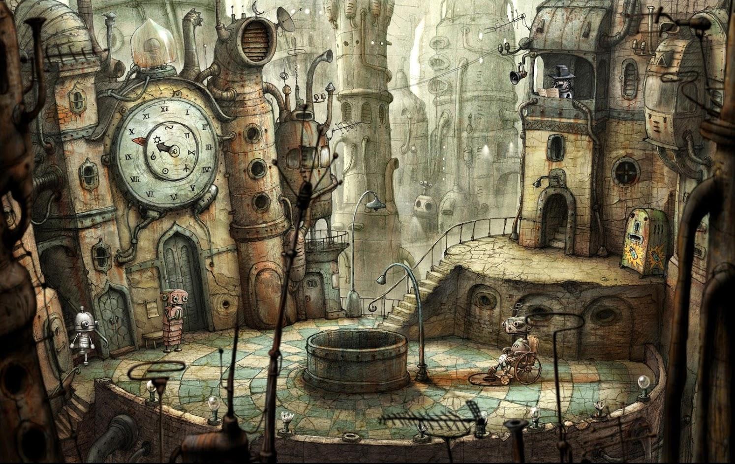 Иллюстрация на тему Machinarium: скачать на Андроид полную версию игры