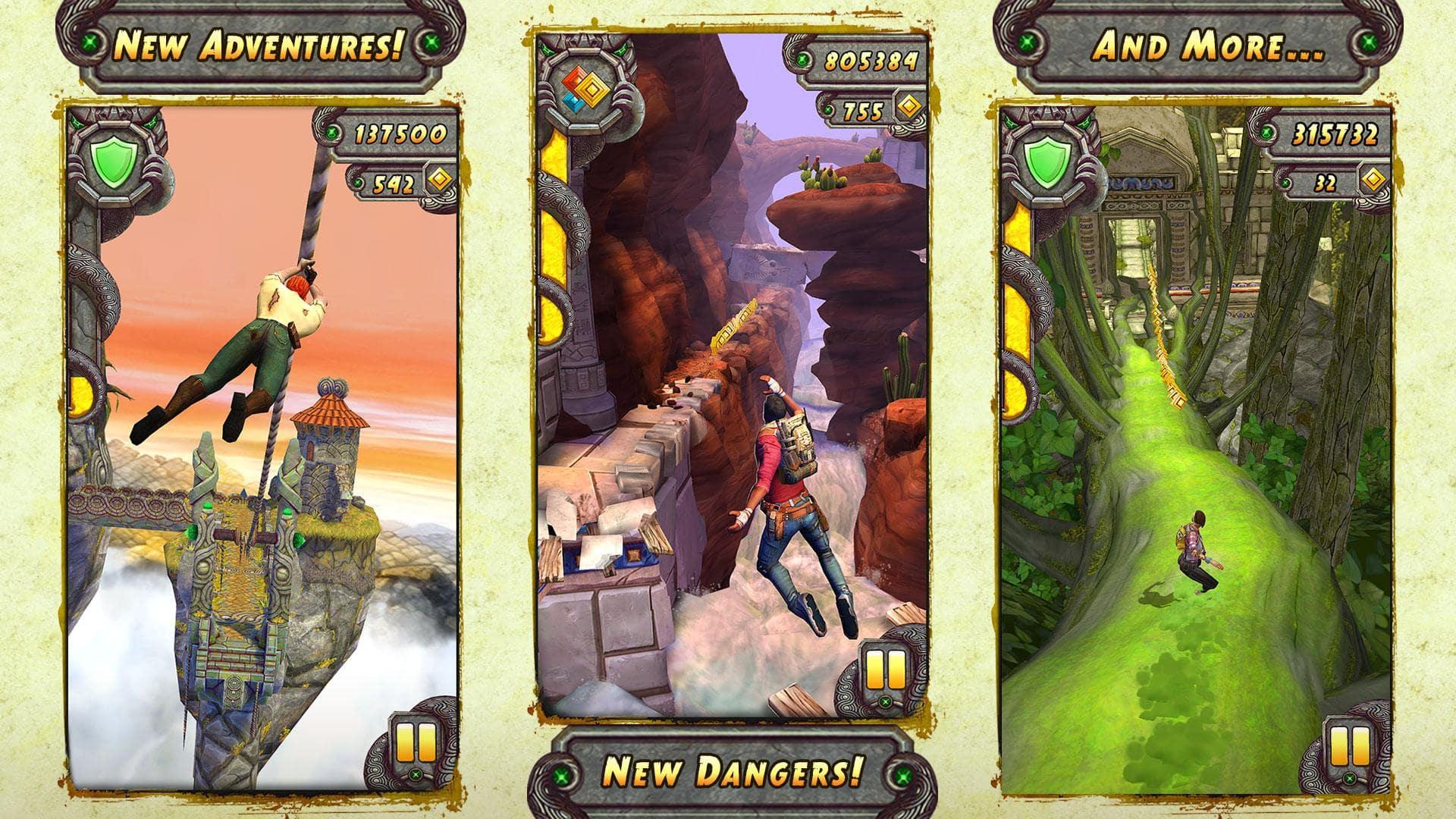 Иллюстрация на тему Temple Run 2: скачать полную версию игры на Андроид