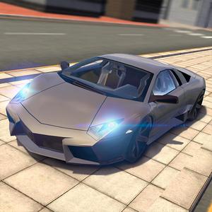 Иконка Скачать игру Extreme Car Driving Simulator на A...