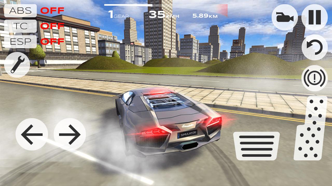 Иллюстрация на тему Скачать Extreme Car Driving Simulator полную версию игры на Андроид