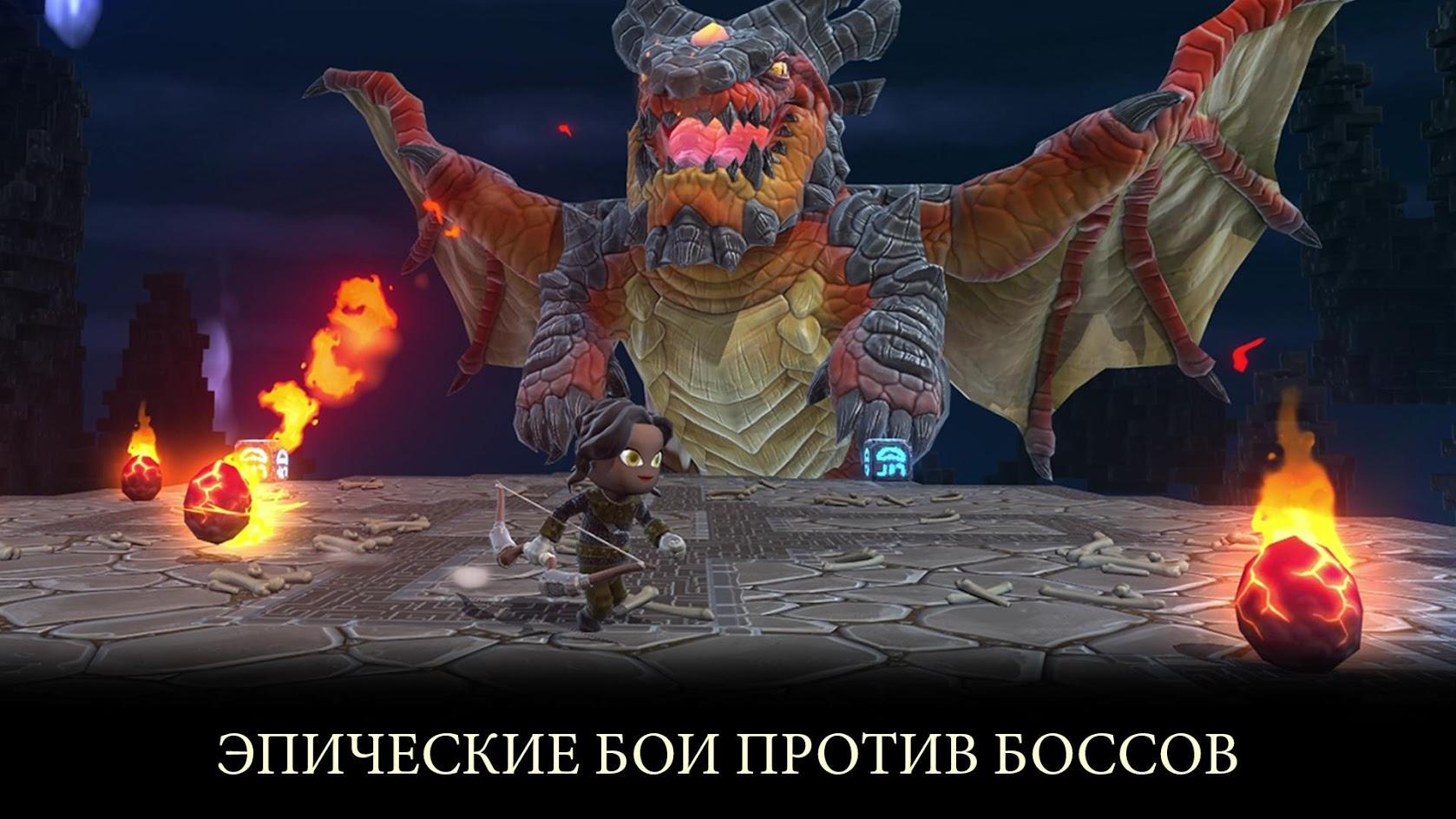 Иллюстрация на тему Portal Knights: скачать на Андроид полную версию игры на русском