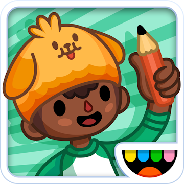 Иконка Скачать игру Toca Life: School на Android