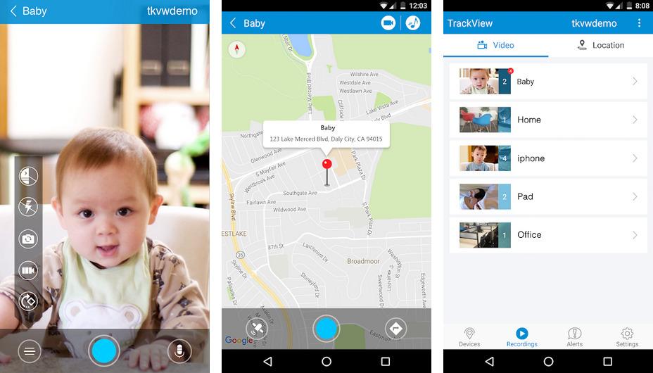 Иллюстрация на тему Видеонаблюдение через телефон Андроид: список приложений
