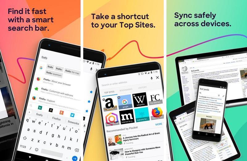 Иллюстрация на тему Firefox для Андроид на русском: скачать APK-установщик