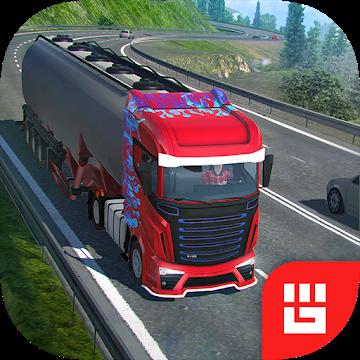 Иконка Скачать Truck Simulator PRO Europe на Android