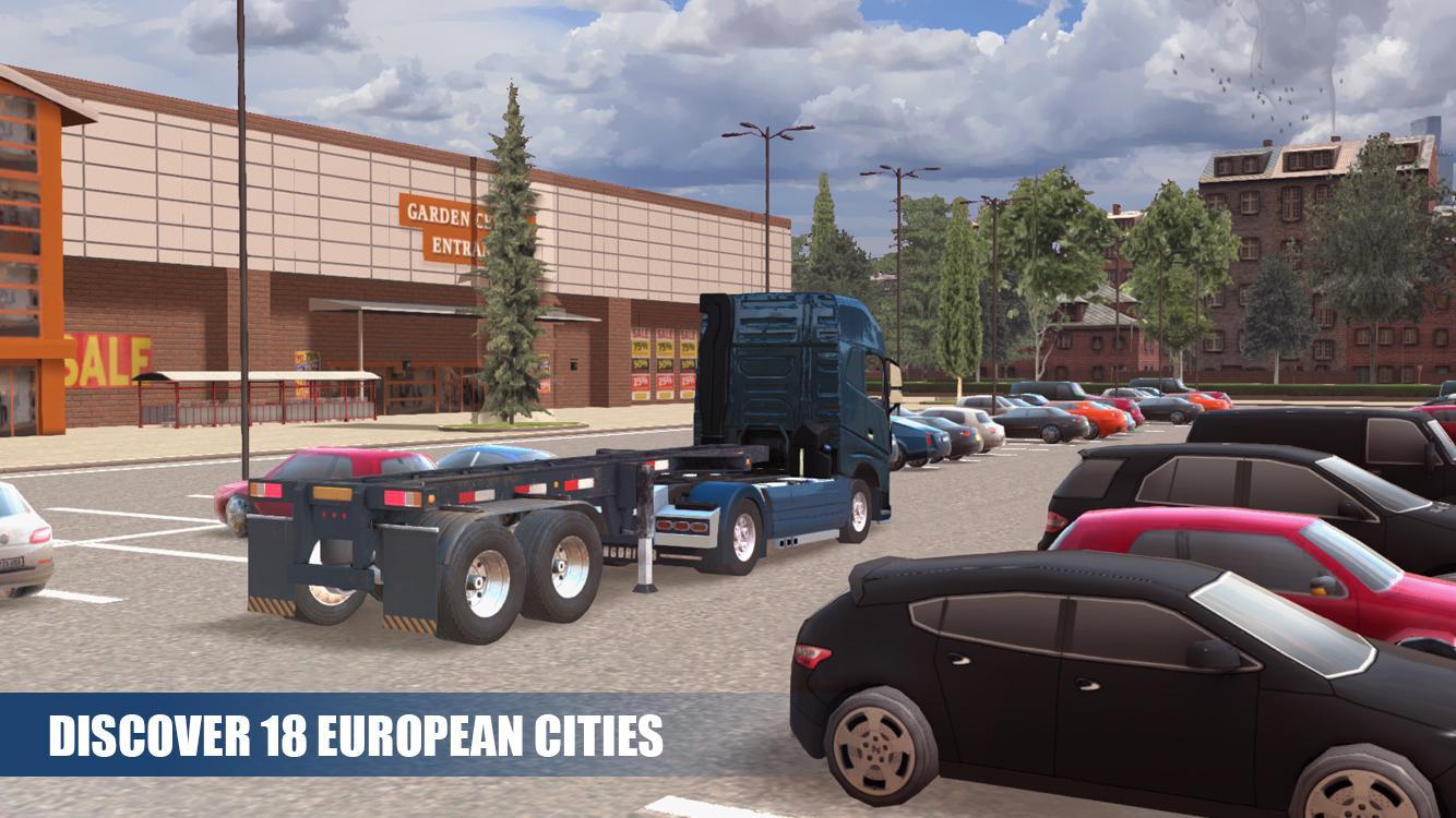 Иллюстрация на тему Truck Simulator PRO Europe: скачать на Андроид симулятор дальнобойщика