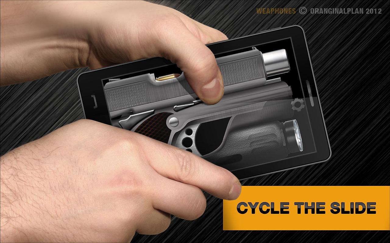 Иллюстрация на тему Скачать Симулятор оружия Weaphones на Андроид полную версию