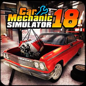 Иконка Скачать игру Car Mechanic Simulator 18 на Android