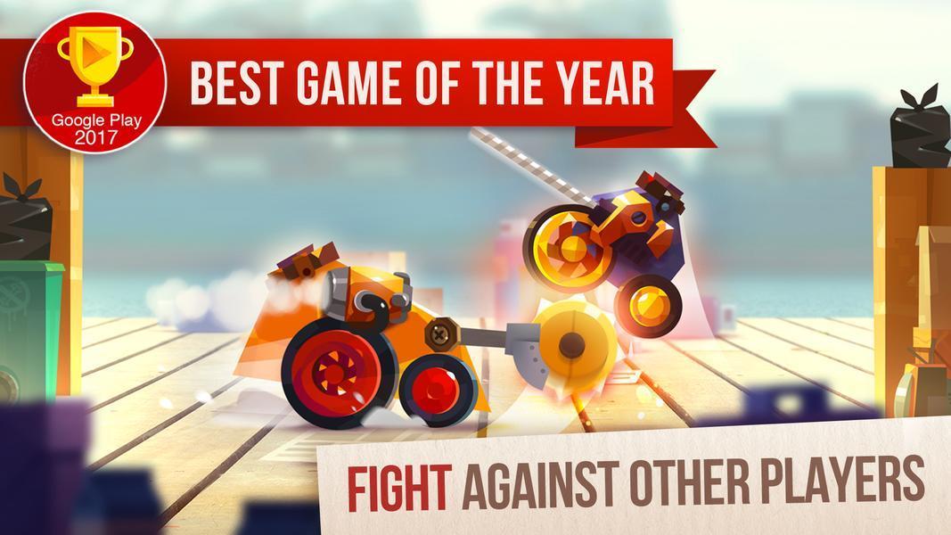 Иллюстрация на тему Скачать CATS: Crash Arena Turbo Stars на телефон Андроид