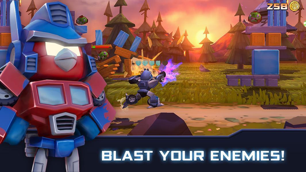 Иллюстрация на тему Angry Birds Transformers: скачать игру на Андроид