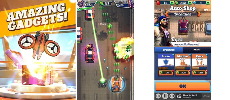 Иллюстрация на тему Fastlane: Road to Revenge - скачать игру на Андроид