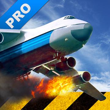Иконка для Extreme Landings Pro: скачать  полную версию игры на Андроид