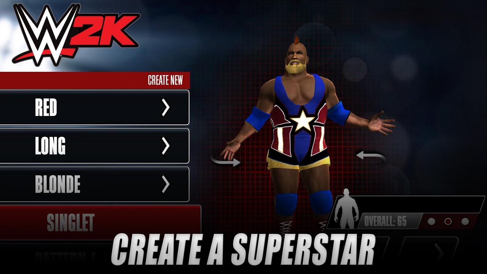 Иллюстрация на тему Скачать WWE 2K на Андроид: полная версия игры на телефон