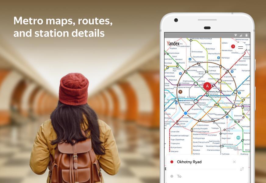 Иллюстрация на тему Скачать Яндекс Метро на телефоны Андроид: полная версия приложения