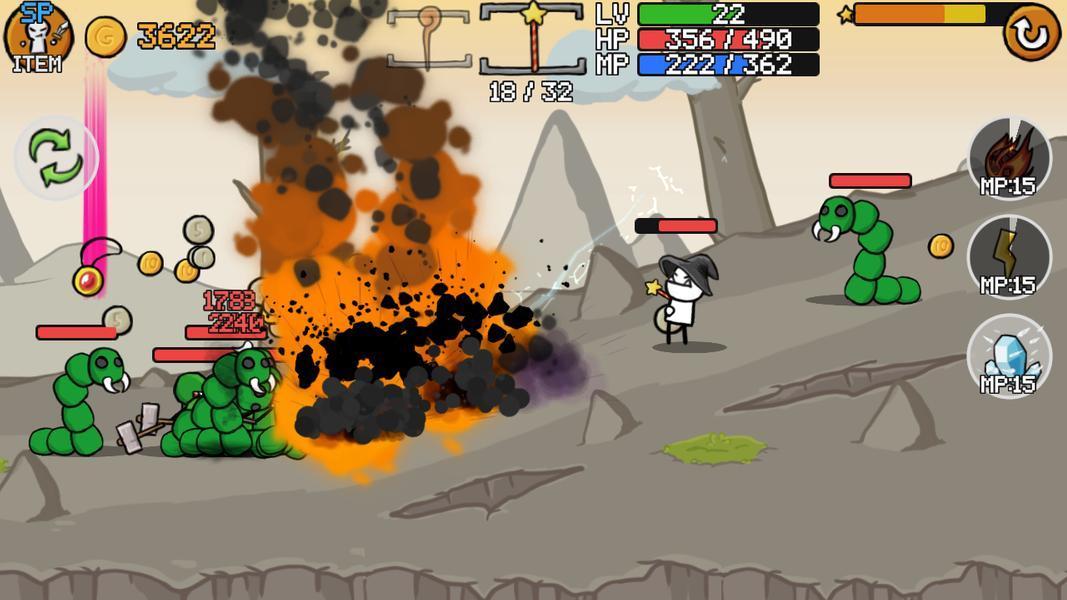 Иллюстрация на тему Скачать Stickman And Gun 2 на Агдроид: полная версия игры