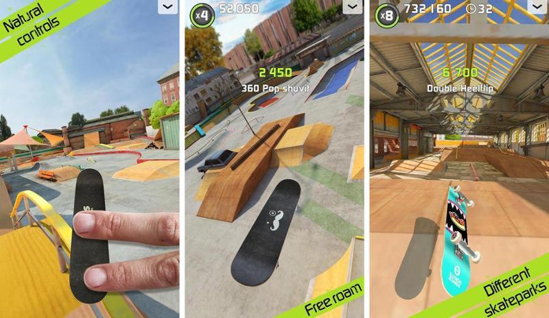Иллюстрация на тему Скачать Touchgrind Skate 2 на андроид: полная версия игры