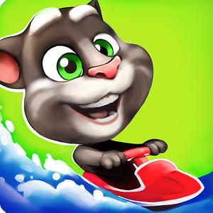 Иконка Скачать Аквабайк Говорящего Тома на Android