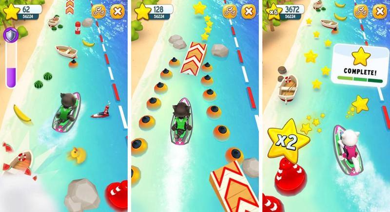 Иллюстрация на тему Аквабайк Тома: скачать полную версию игры на Андроид