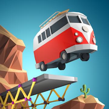 Иконка Скачать игру Poly Bridge на Android