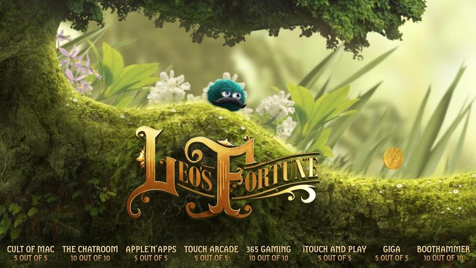 Иллюстрация на тему Скачать Leo's Fortune на Андроид: полная версия игры