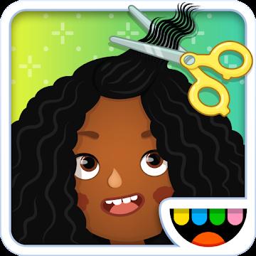 Иконка Скачать игру Toca Hair Salon 3 на Android