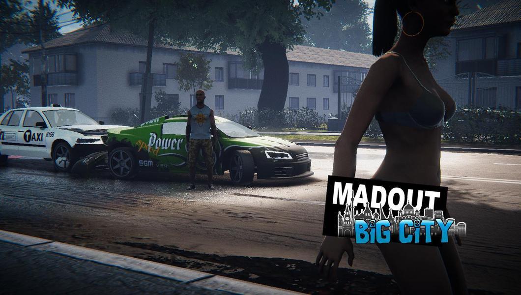 Иллюстрация на тему MadOut 2 Big City Online: скачать игру на Андроид