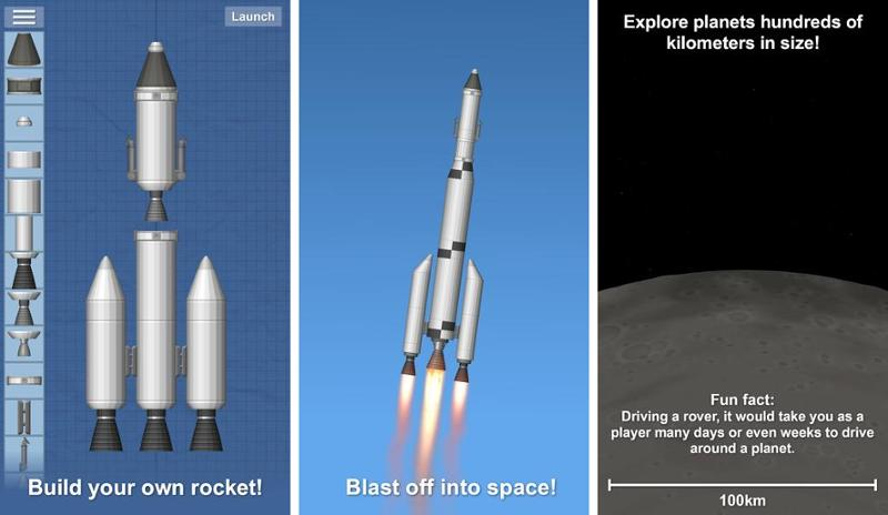 Иллюстрация на тему Space Flight Simulator полная версия игры: скачать на Андроид