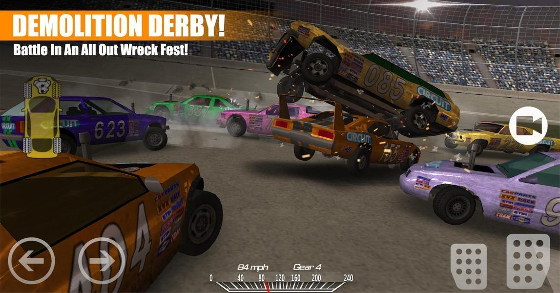 Иллюстрация на тему Demolition Derby 2: скачать полную версию игры на Андрроид