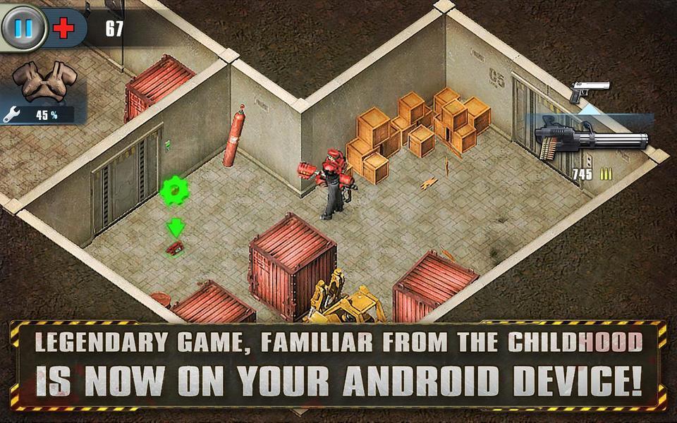 Иллюстрация на тему Alien Shooter на Android: скачать полную версию игры