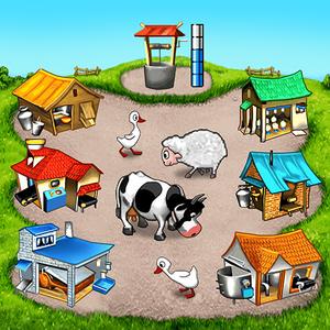 Иконка Скачать игру Farm Frenzy на Android